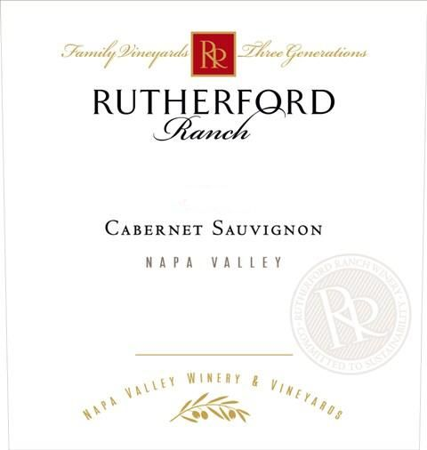 Rutherford Ranch Cabernet Sauvignon (375ML half-bottle) 2016  Front Label
