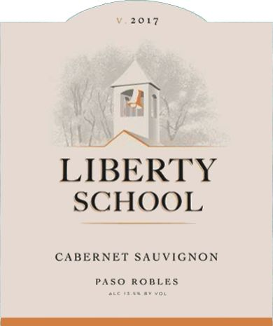 Liberty School Cabernet Sauvignon 2017  Front Label