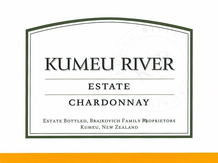 Kumeu River Estate Chardonnay 2018  Front Label