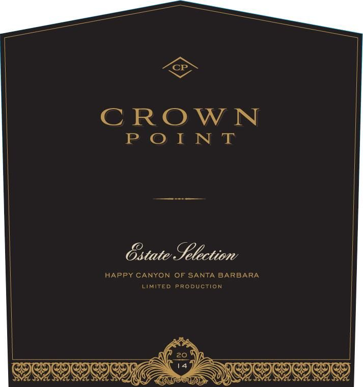 Crown Point Estate Selection 2014 Front Label