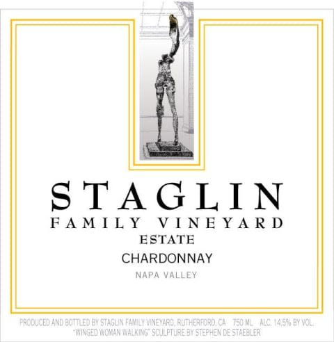 Staglin Chardonnay (375ML half-bottle) 2018  Front Label