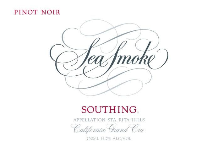 Sea Smoke Cellars Southing Pinot Noir 2005  Front Label