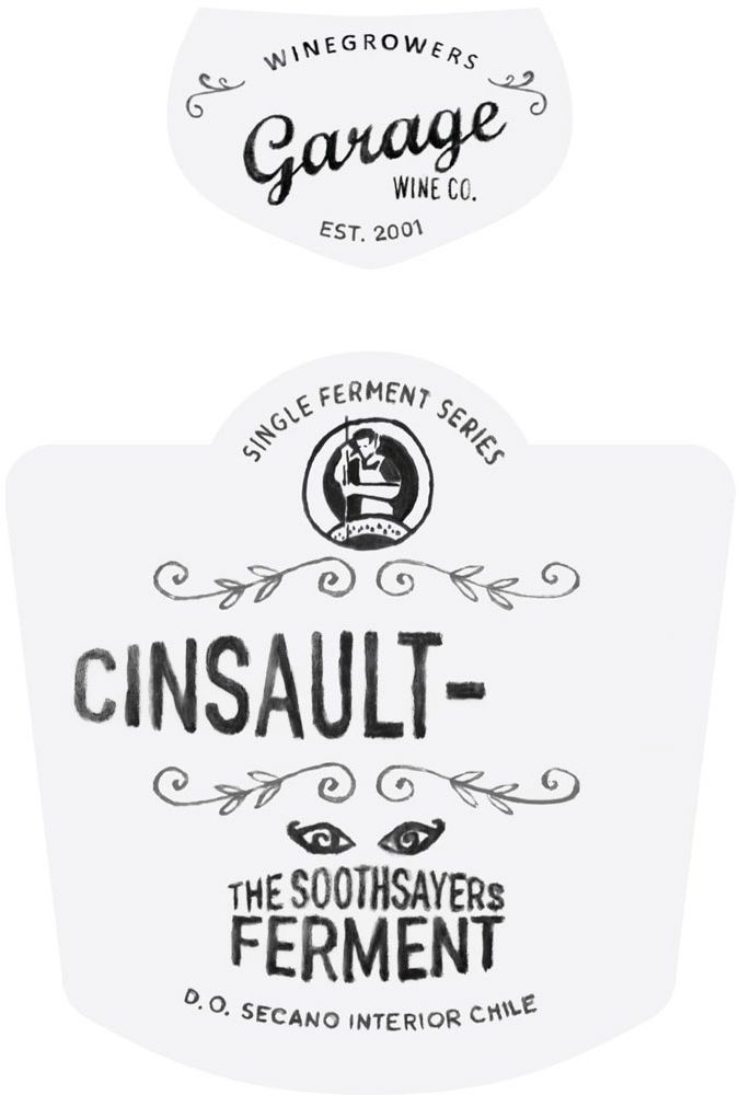 Garage Wine Co. Cinsault The Soothsayer's Ferment 2017 Front Label