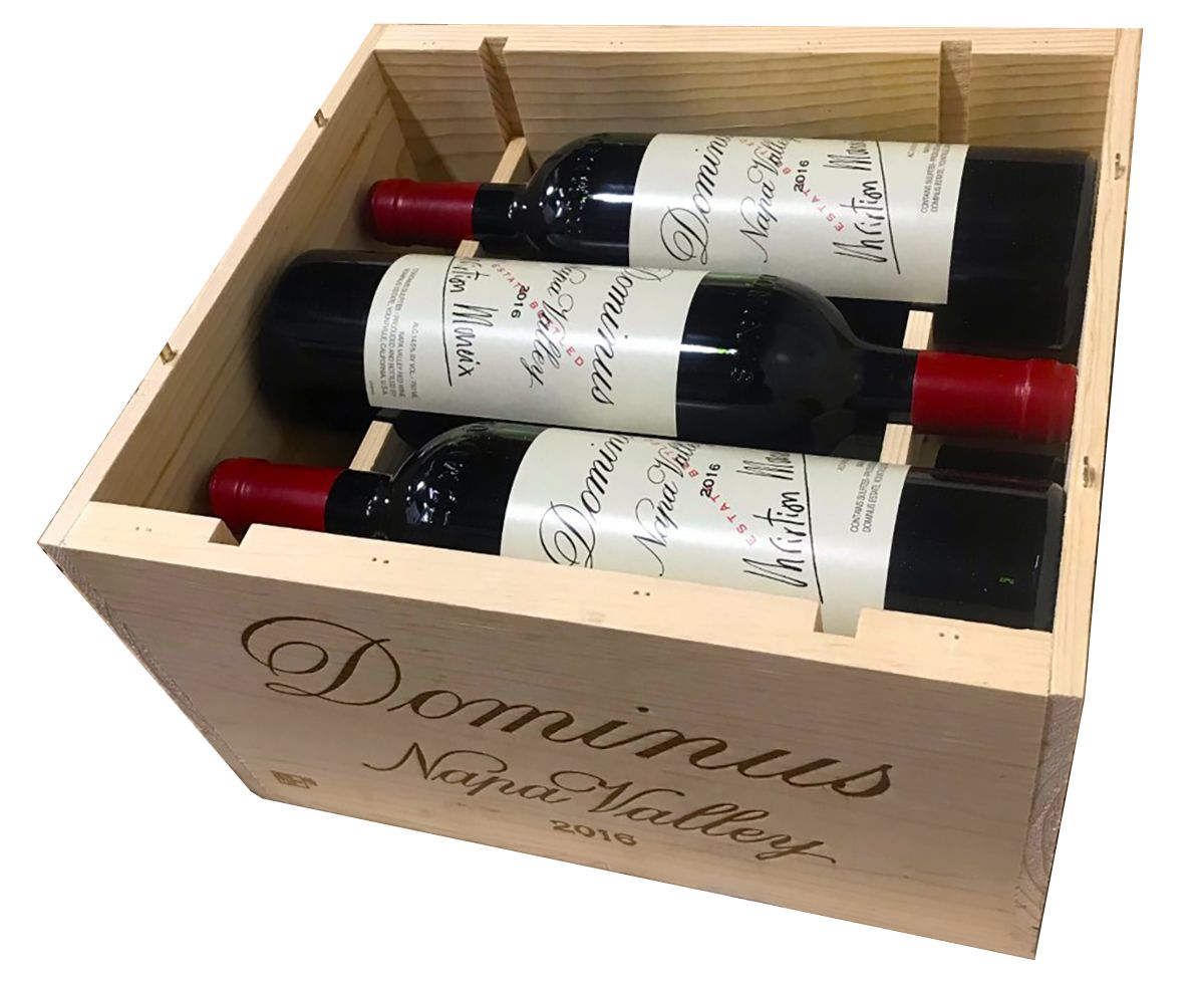 Dominus Estate 2016 6-Pack Wood Case (OWC) Gift Product Image