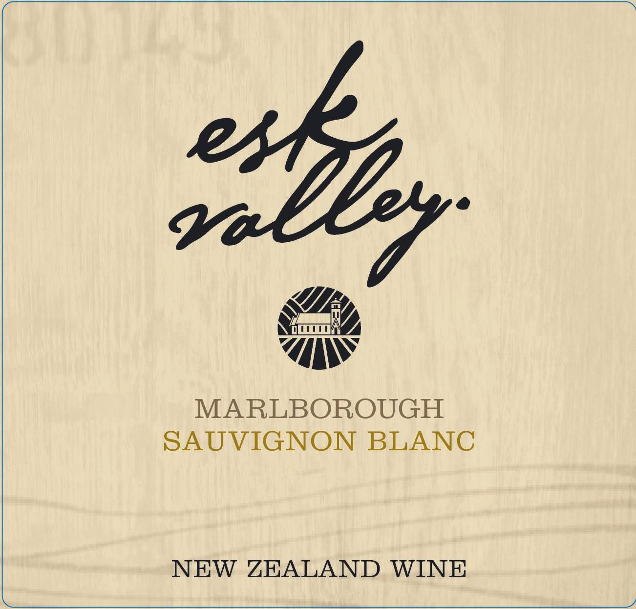Esk Valley Sauvignon Blanc 2019  Front Label