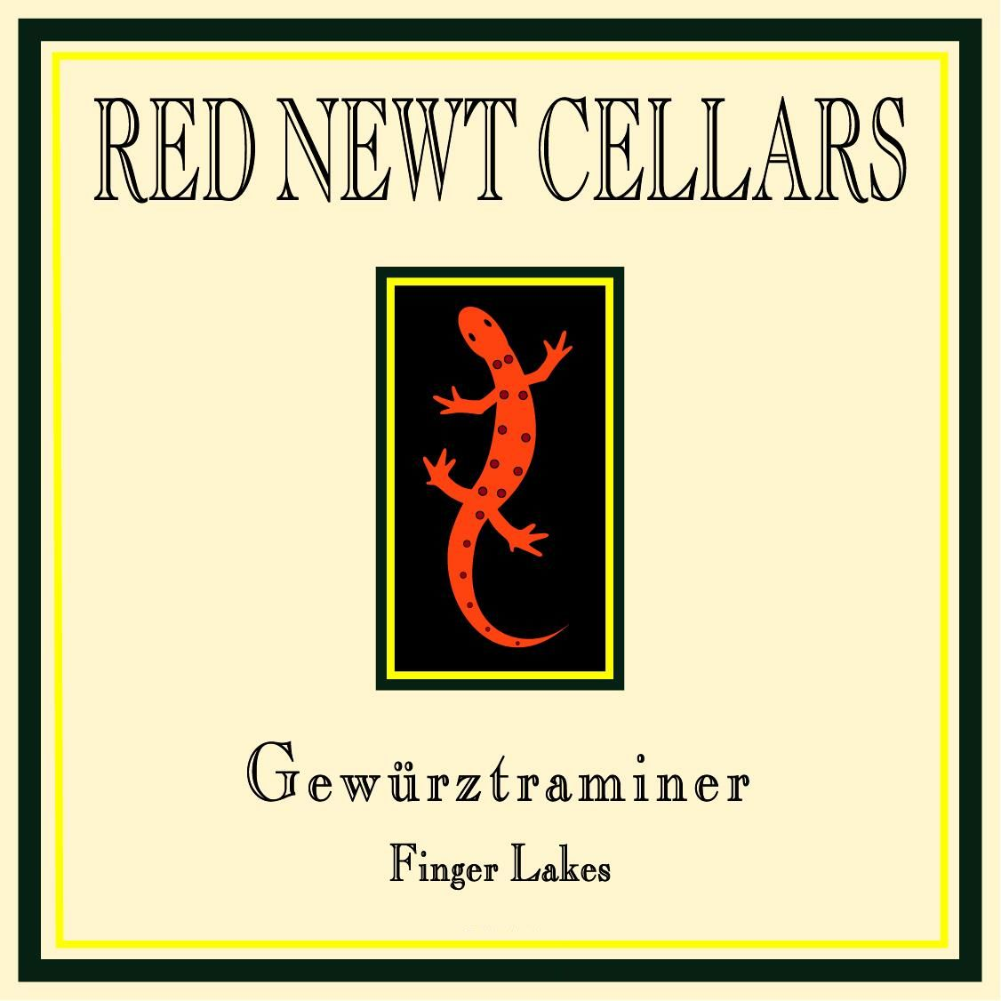 Red Newt Cellars Gewurztraminer 2014 Front Label
