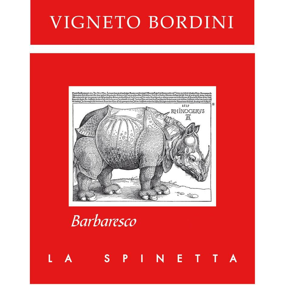La Spinetta Barbaresco Bordini 2017  Front Label