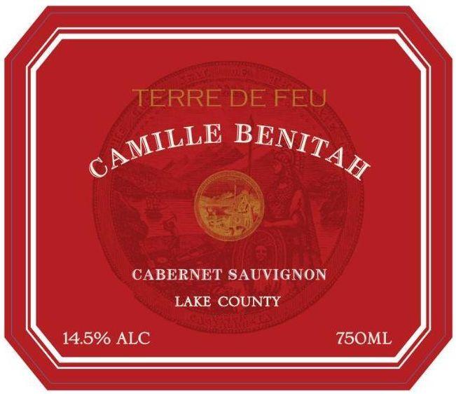 Camille Benitah Terre de Feu Cabernet Sauvignon 2017