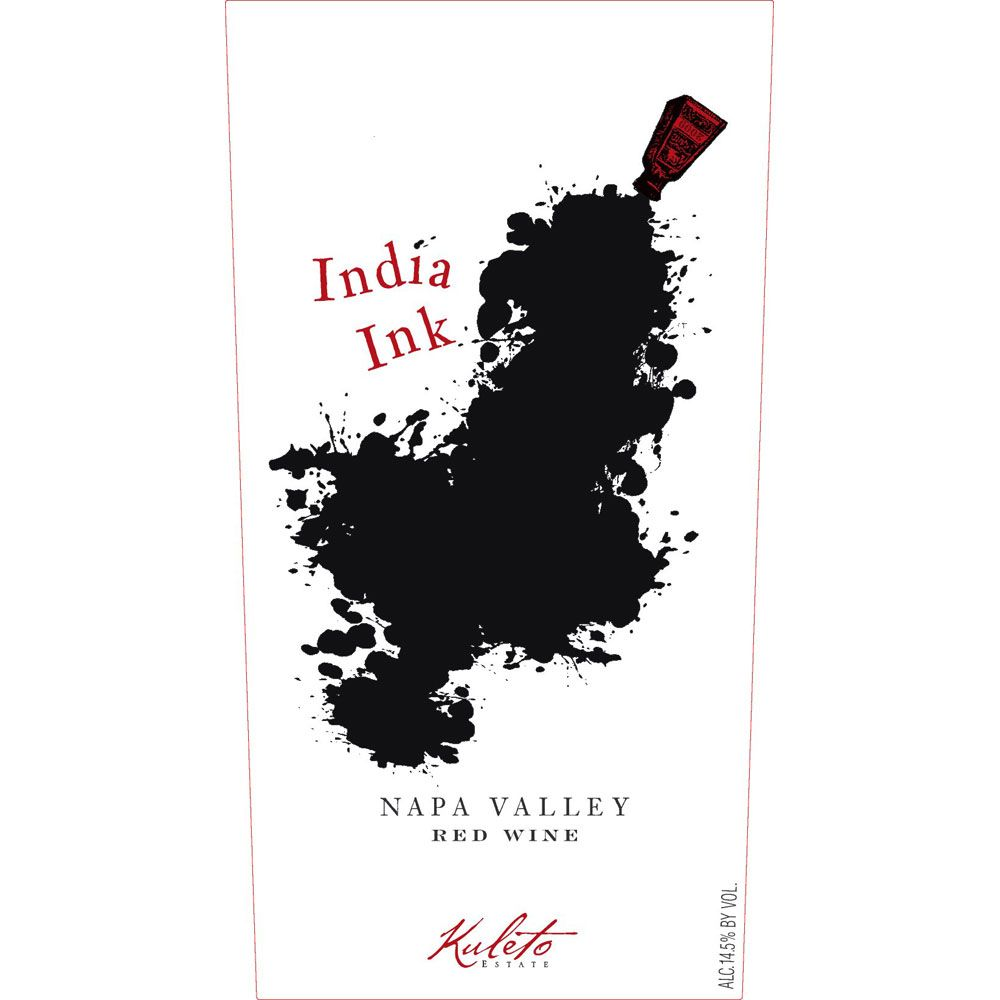 Kuleto Estate India Ink Red 2016  Front Label