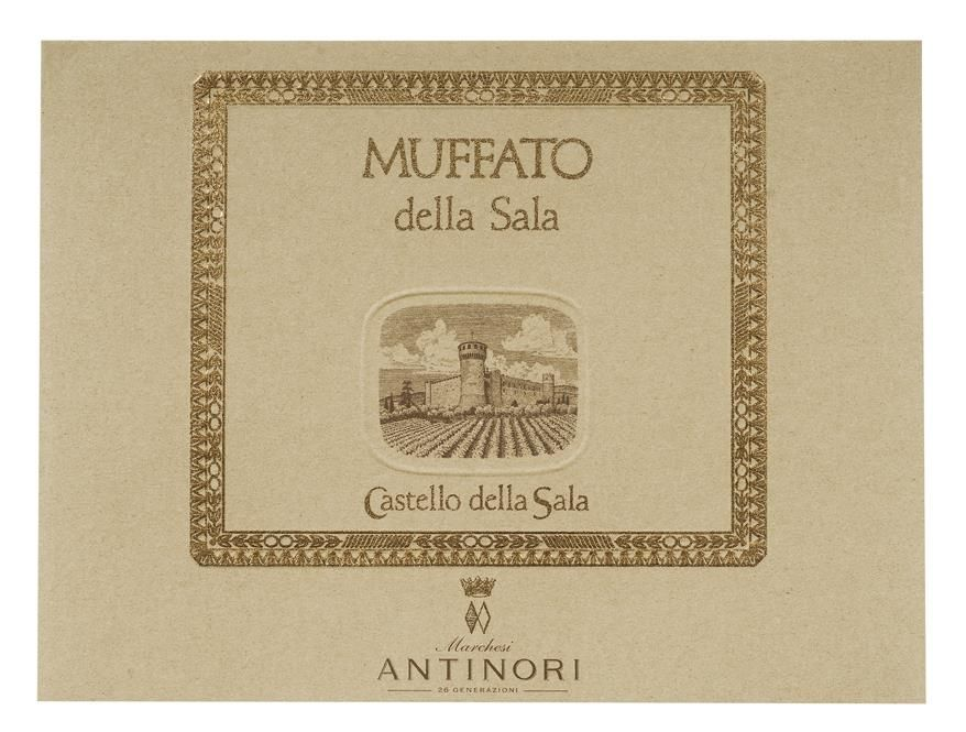 Antinori Muffato (500ml) 2008  Front Label