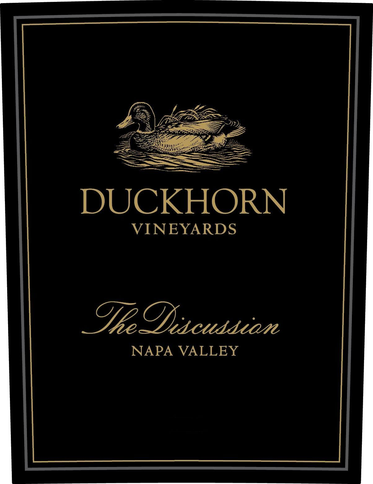 Duckhorn The Discussion (1.5 Liter Magnum) 2014 Front Label