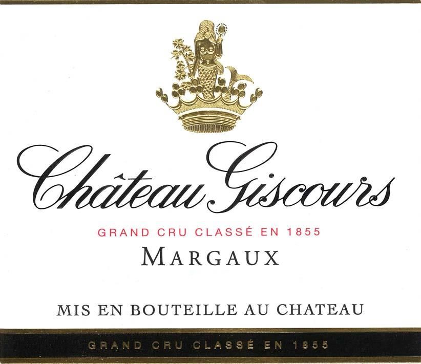 Chateau Giscours (1.5 Liter Futures Pre-Sale) 2019  Front Label