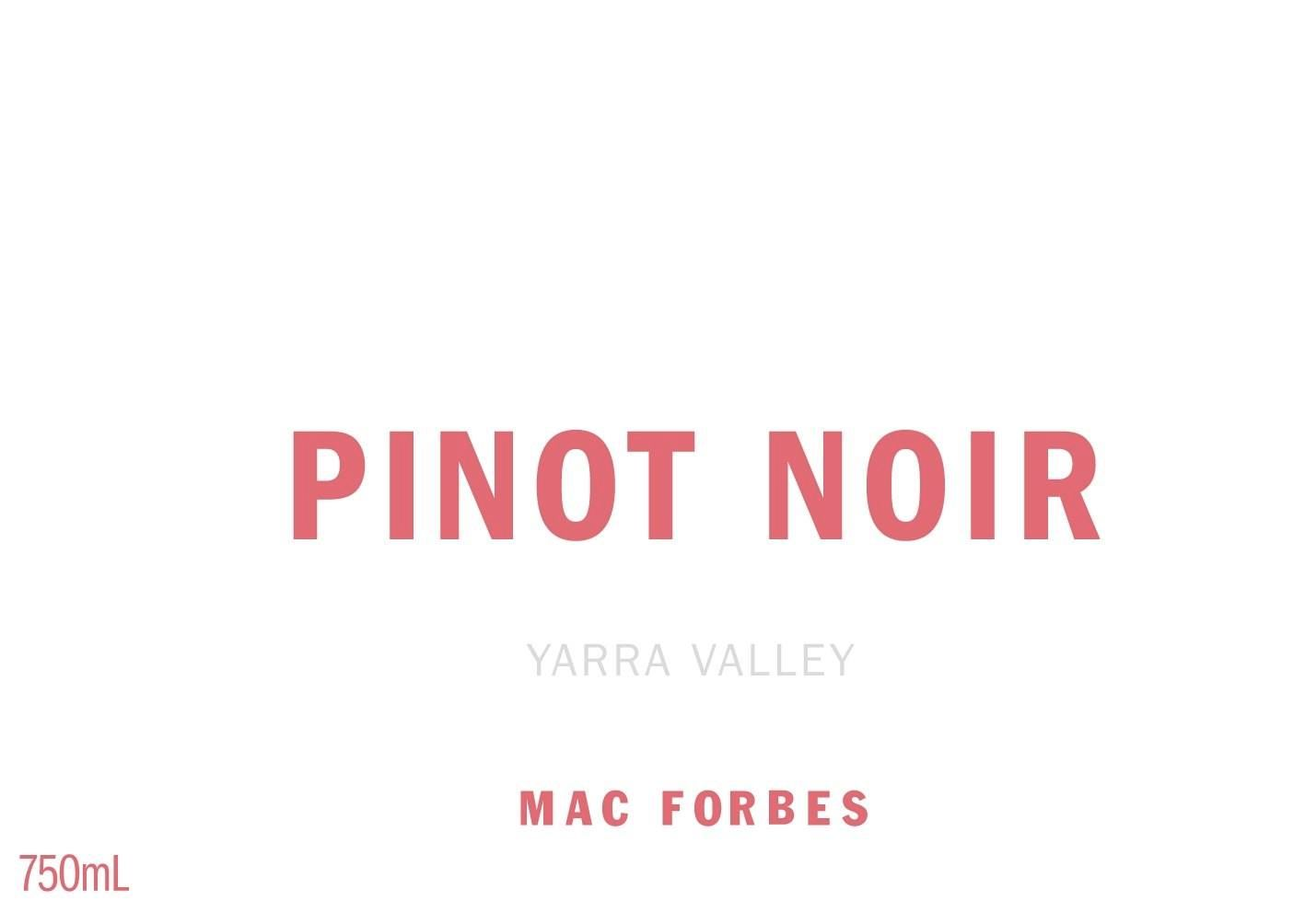 Mac Forbes Yarra Valley Pinot Noir 2018  Front Label