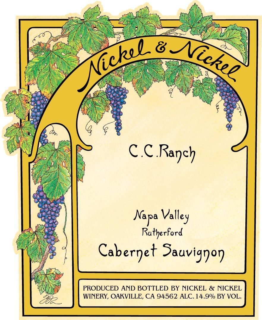Nickel & Nickel C.C. Ranch Cabernet Sauvignon 2017  Front Label