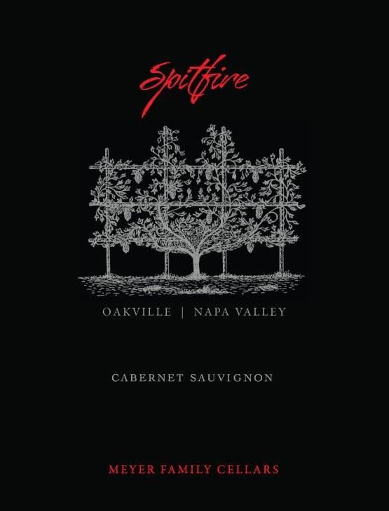 Meyer Family Cellars Spitfire Cabernet Sauvignon 2017  Front Label