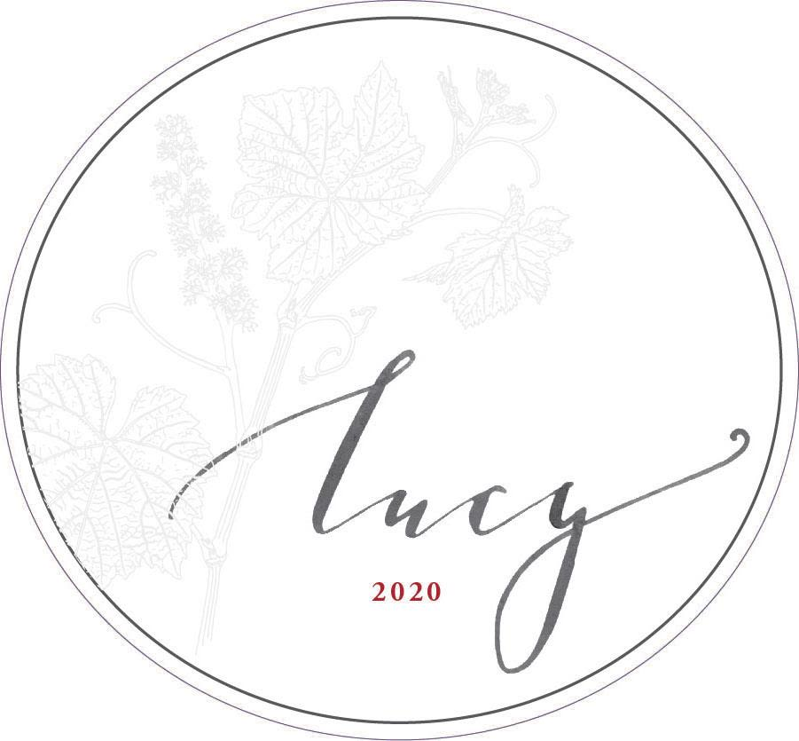 Pisoni Vineyards Lucy Rose of Pinot Noir 2020  Front Label