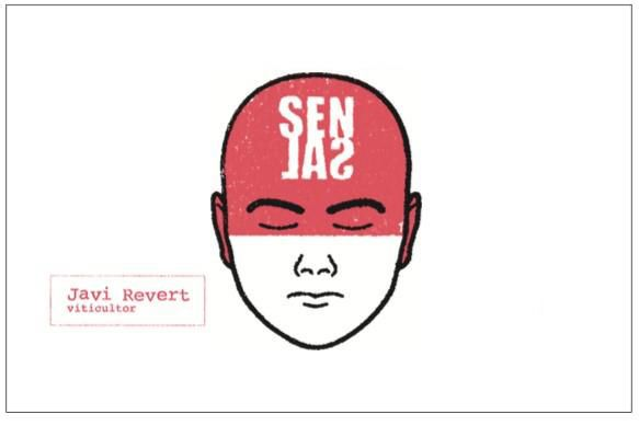 Javi Revert Sensal Red 2019  Front Label