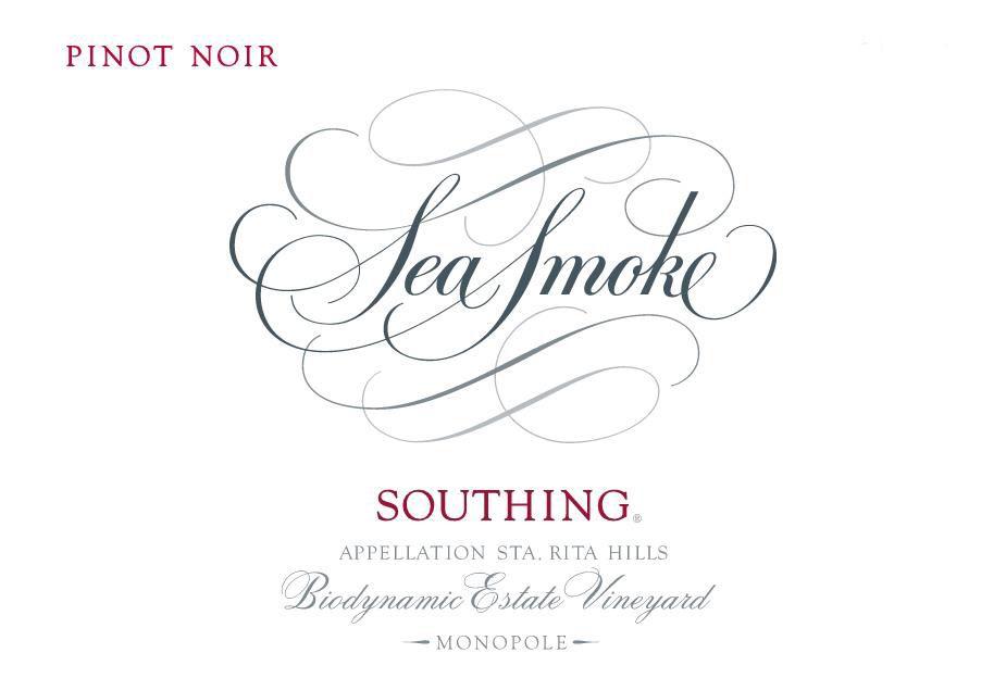 Sea Smoke Cellars Southing Pinot Noir 2017  Front Label