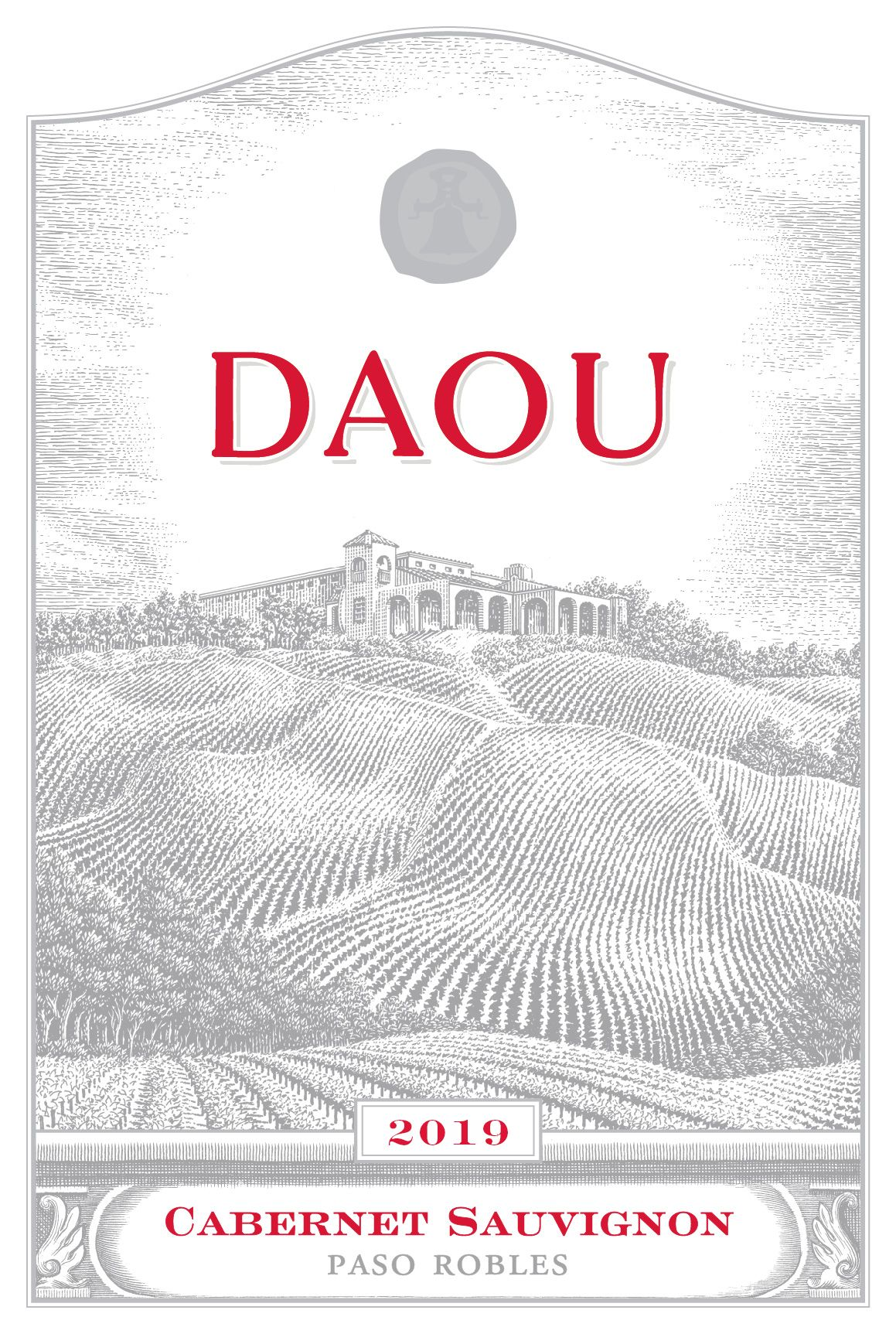 DAOU Vineyards Cabernet Sauvignon 2019  Front Label