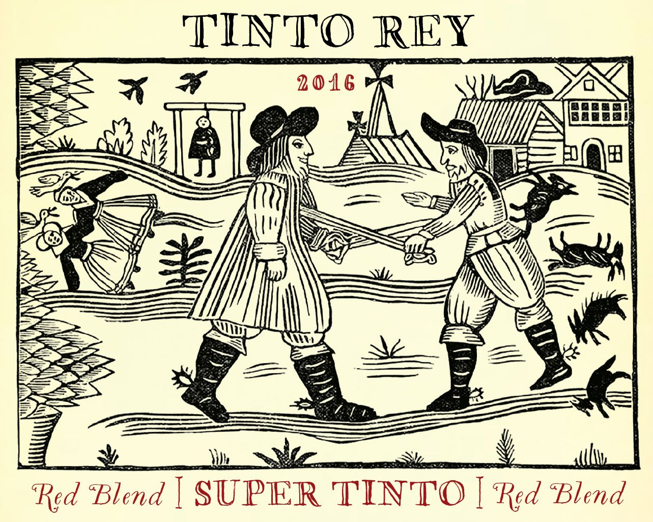 Tinto Rey Super Tinto Red Blend 2016  Front Label