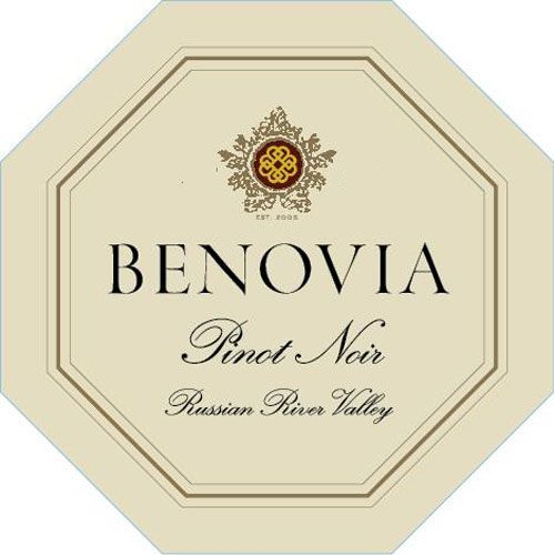 Benovia Russian River Valley Pinot Noir 2017  Front Label