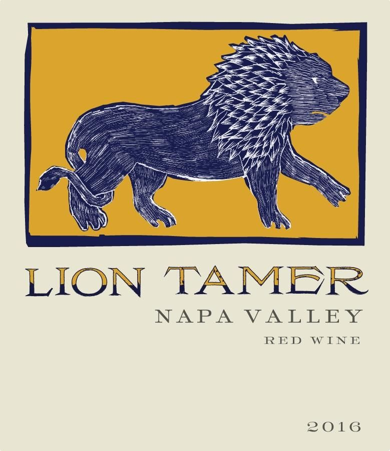 Hess Lion Tamer Red Blend 2016  Front Label