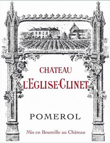 Chateau L'Eglise Clinet  2015 Front Label