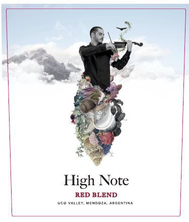 High Note Andes Red Blend 2019  Front Label