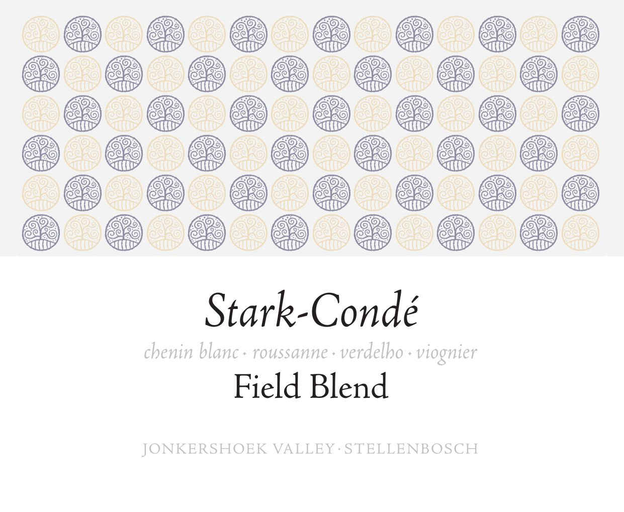 Stark-Conde The Field Blend 2018  Front Label