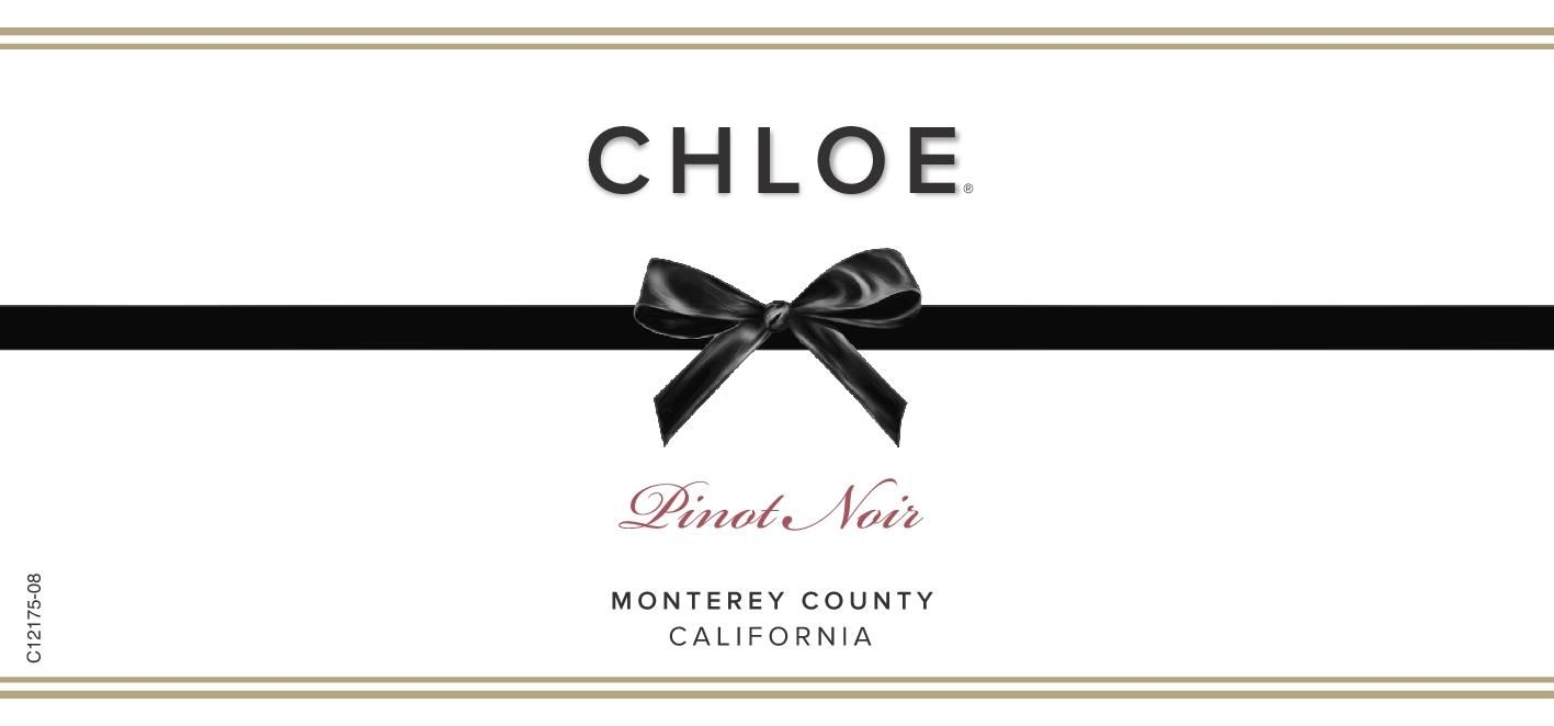 Chloe Monterey County Pinot Noir 2018  Front Label
