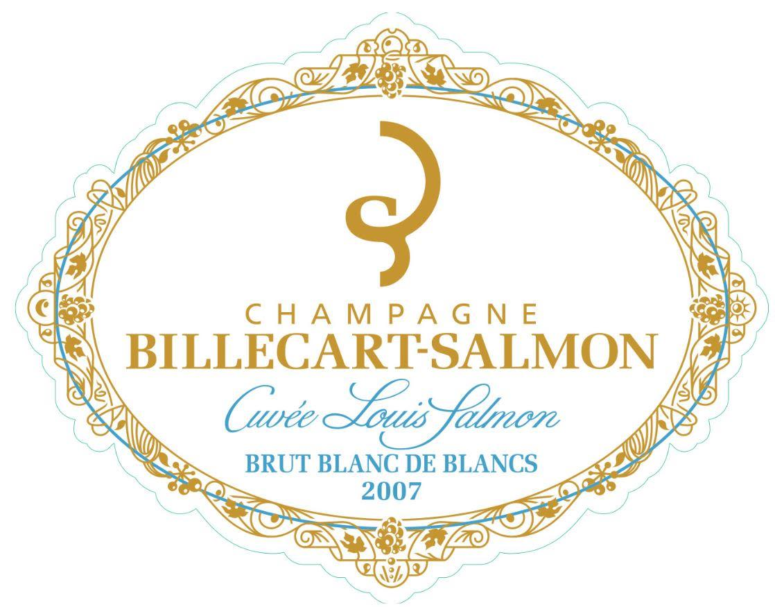 Billecart-Salmon Cuvee Louis Brut Blanc de Blanc Grand Cru 2007  Front Label