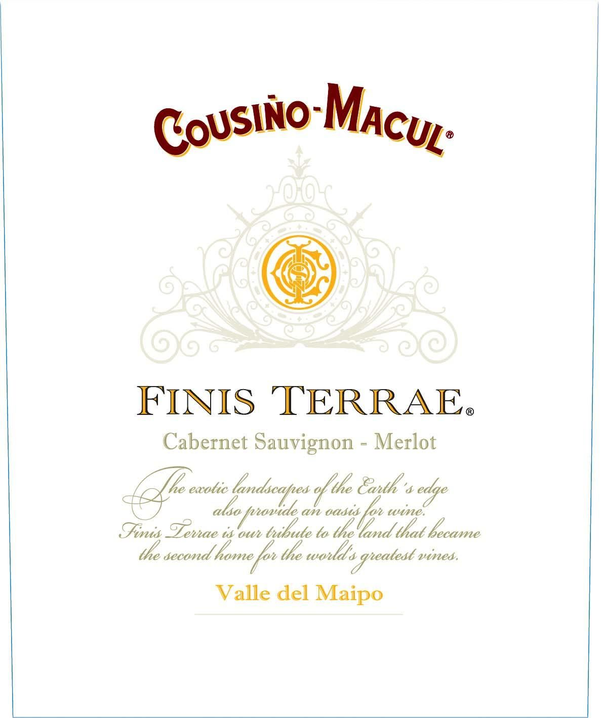 Cousino Macul Finis Terrae 2013 Front Label