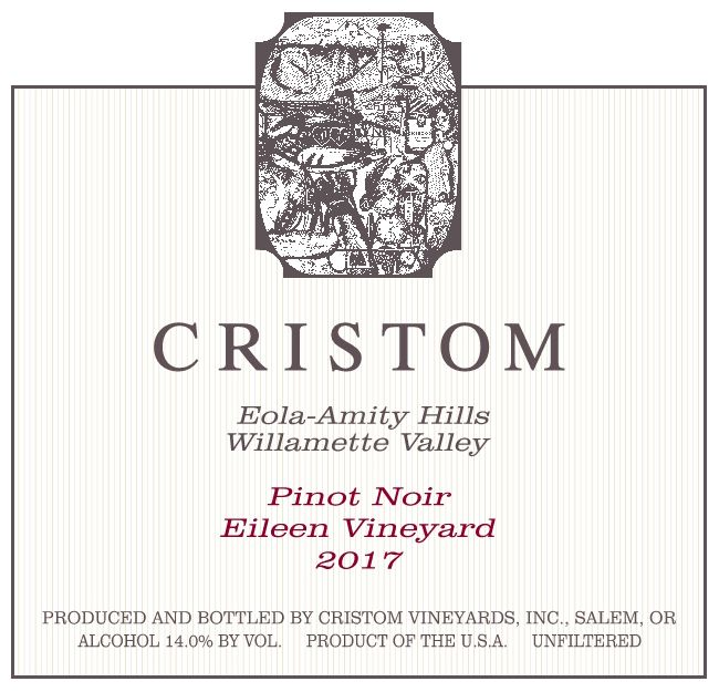 Cristom Eileen Vineyard Pinot Noir (375ML half-bottle) 2017 Front Label