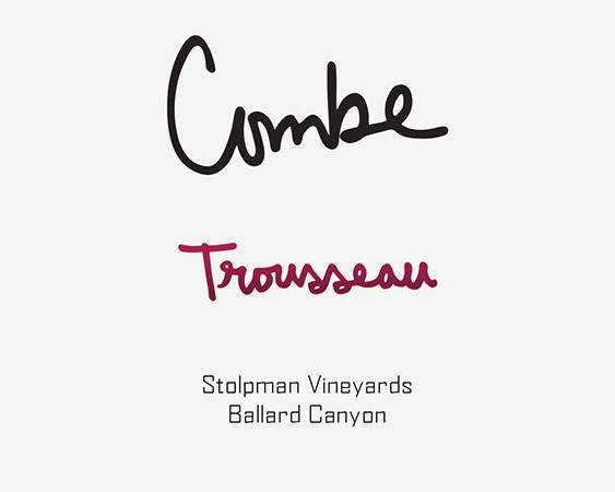 Stolpman Vineyards Combe Trousseau 2019  Front Label
