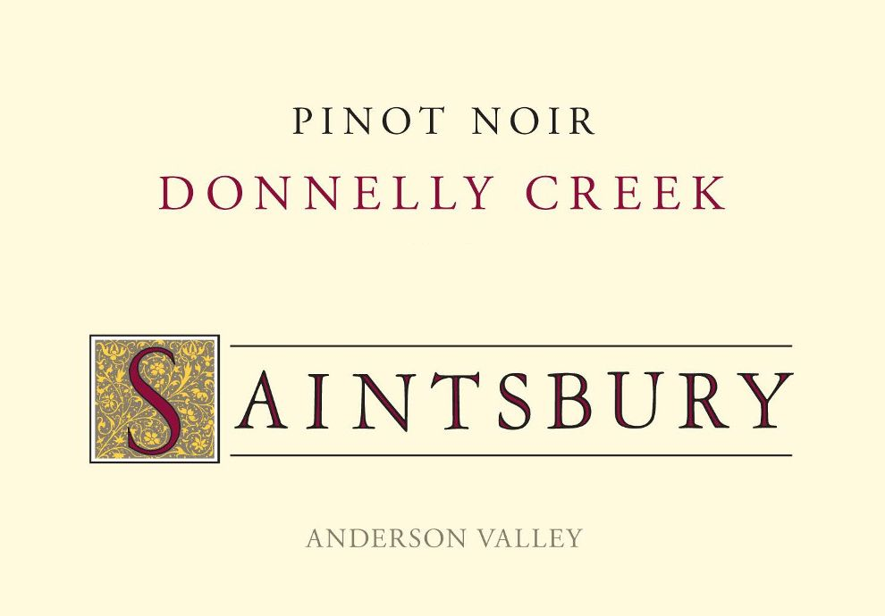 Saintsbury Donnelly Creek Pinot Noir 2014 Front Label