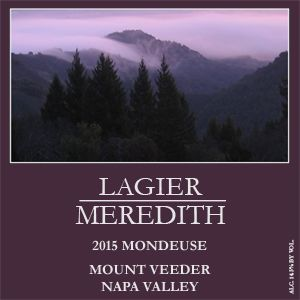Lagier Meredith Mondeuse 2015  Front Label