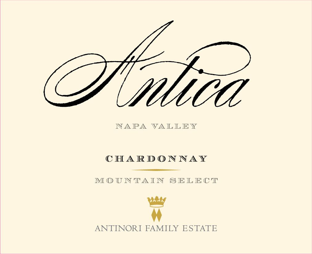 Antica Chardonnay (Mountain Select) 2018  Front Label