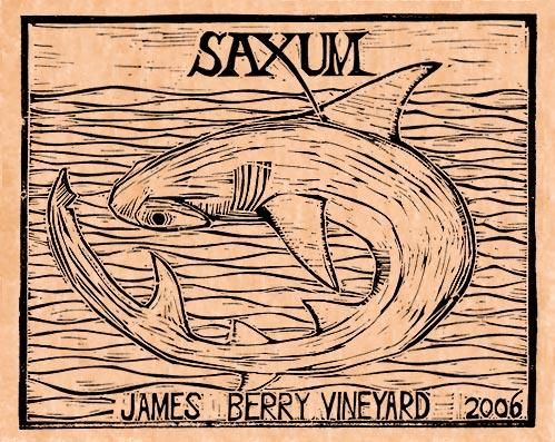 Saxum James Berry Vineyard (1.5 Liter Magnum) 2006  Front Label