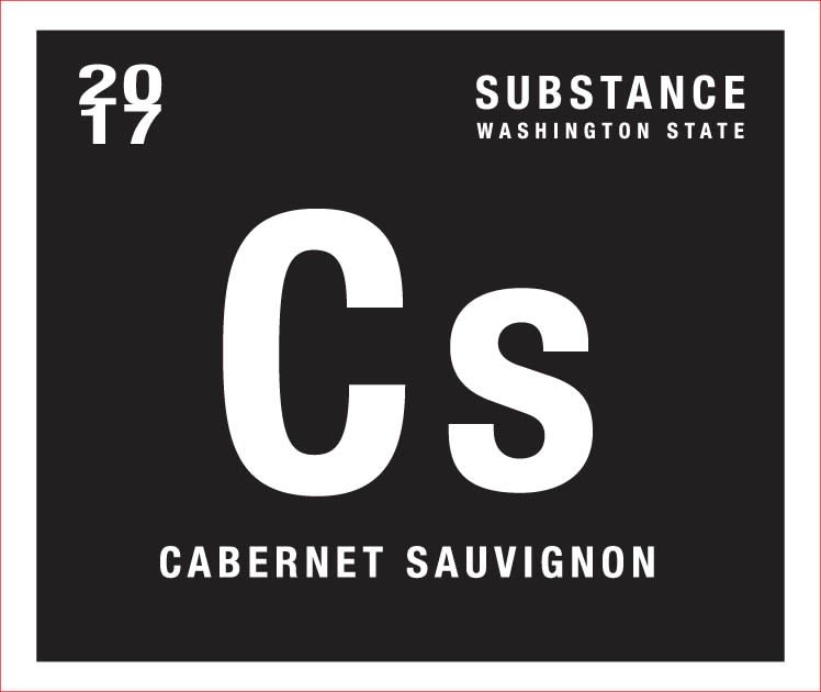 Substance Cabernet Sauvignon 2017  Front Label