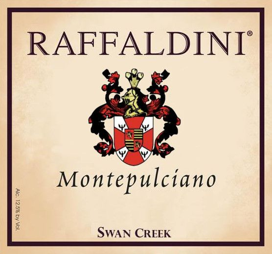 Raffaldini Vineyards & Winery, LLC. Montepulciano 2009 Front Label