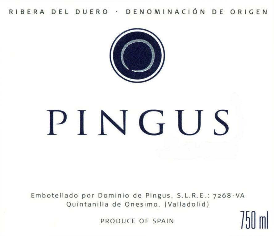 Dominio de Pingus  2018  Front Label