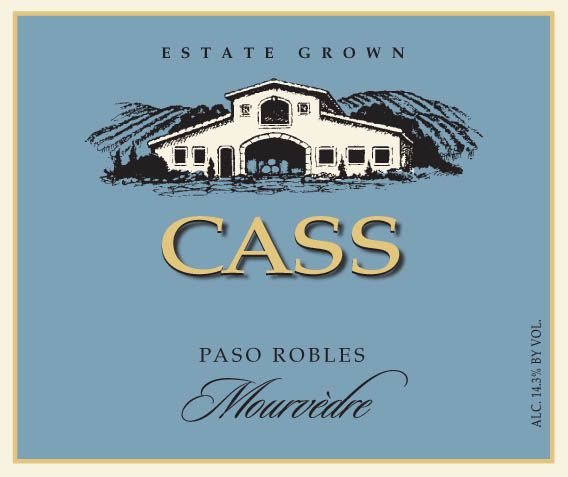 Cass Winery Mourvedre 2018  Front Label