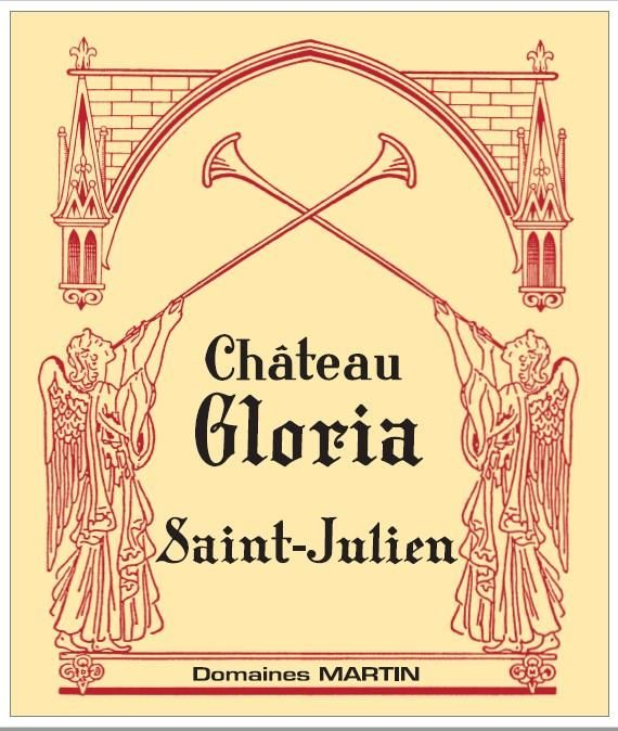 Chateau Gloria (Futures Pre-Sale) 2019  Front Label