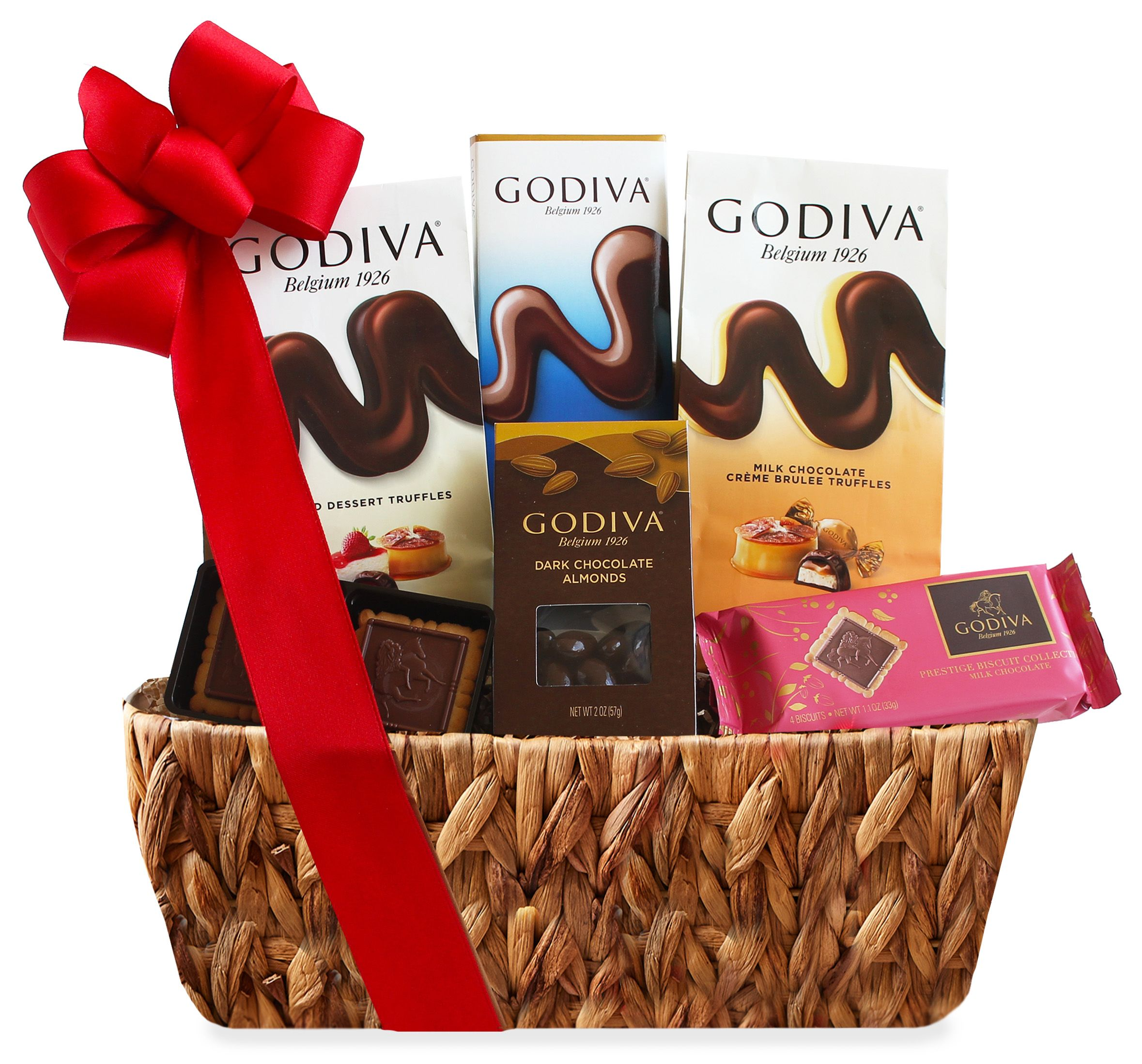 wine.com Godiva Chocolates Gift Basket  Gift Product Image