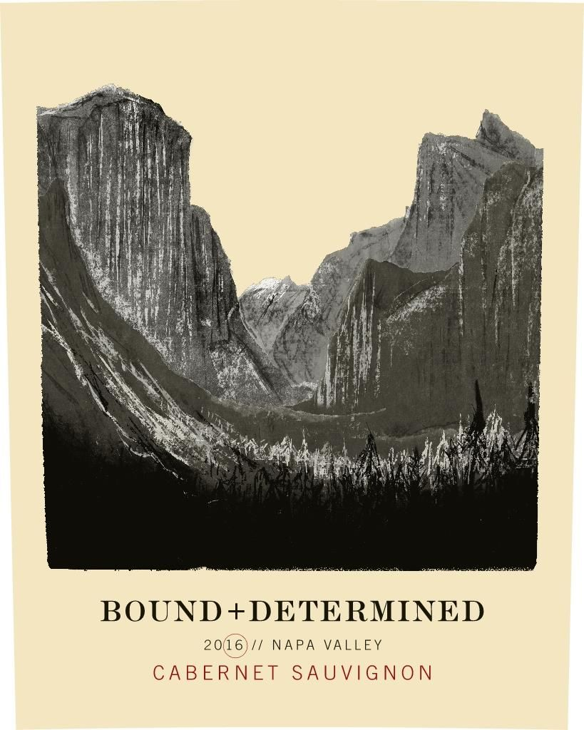 Roots Run Deep Bound and Determined Cabernet Sauvignon 2016  Front Label