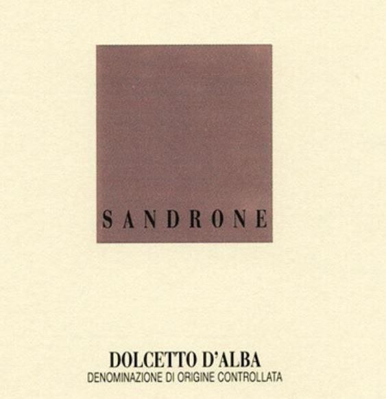 Sandrone Dolcetto d'Alba 2017 Front Label