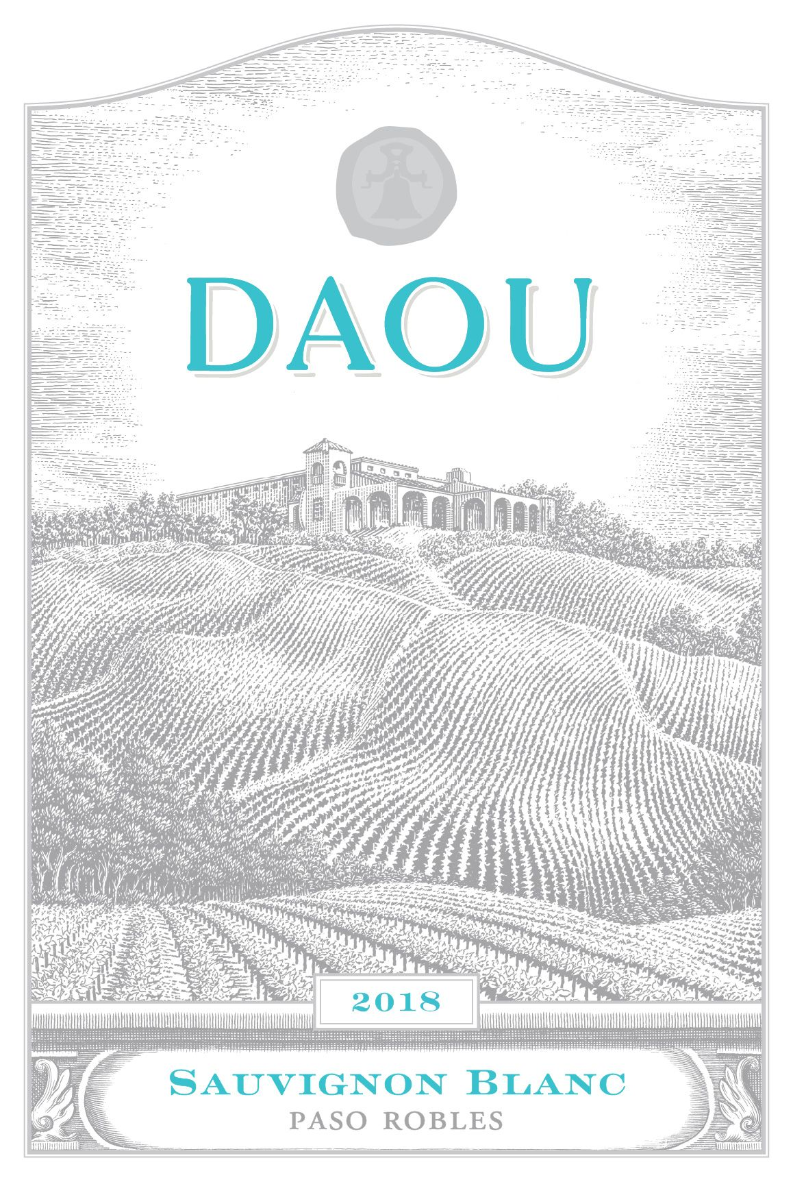DAOU Vineyards Sauvignon Blanc 2018  Front Label