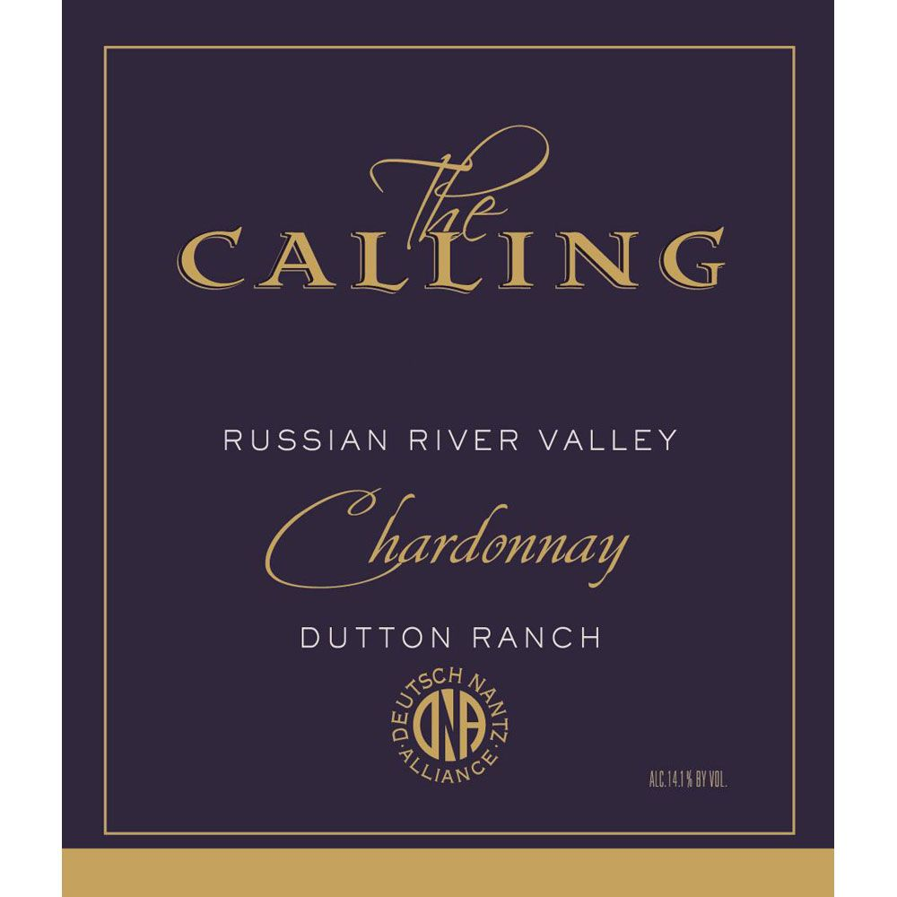 The Calling Dutton Ranch Chardonnay 2018  Front Label