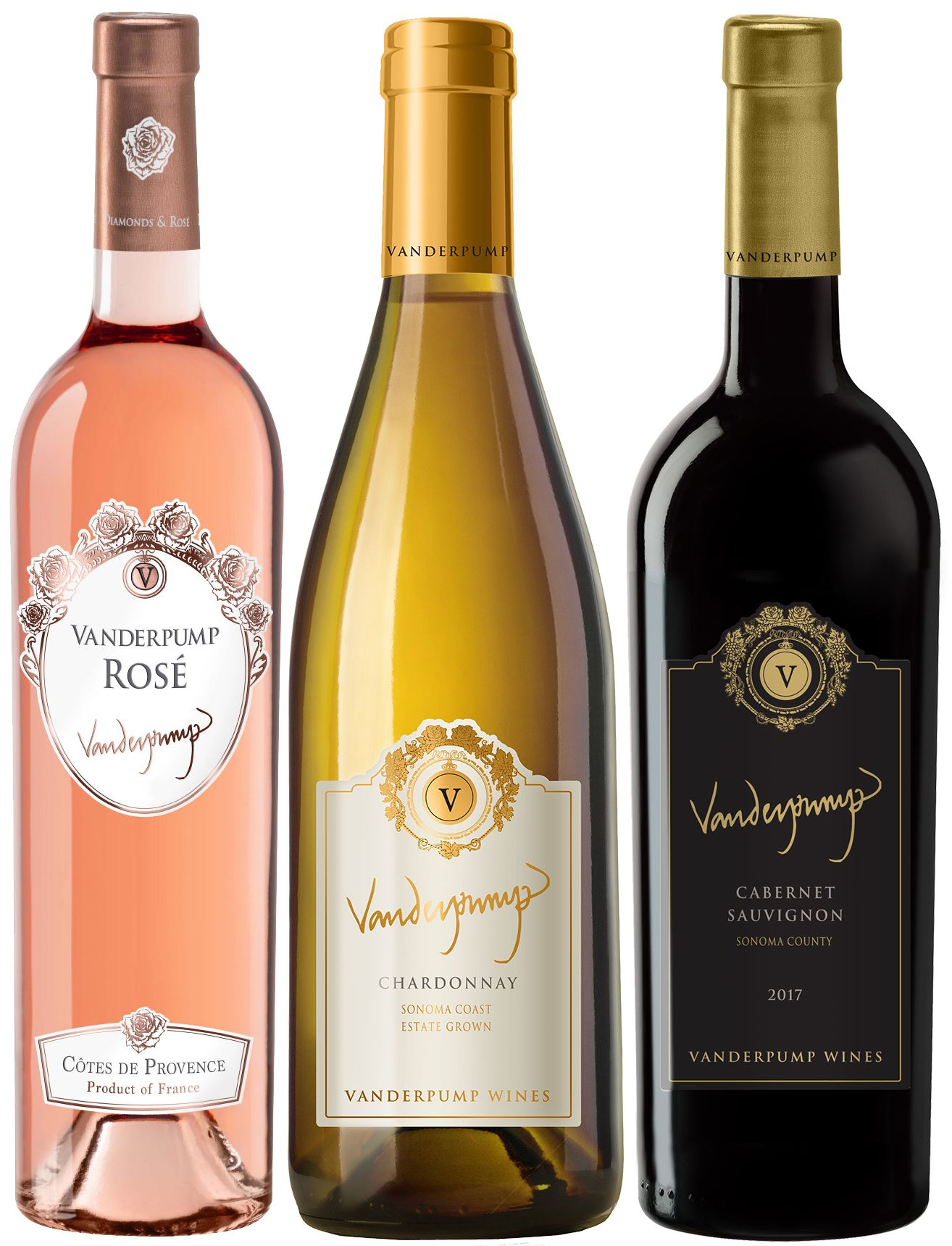 Vanderpump Wines Virtual Tasting Trio  Gift Product Image