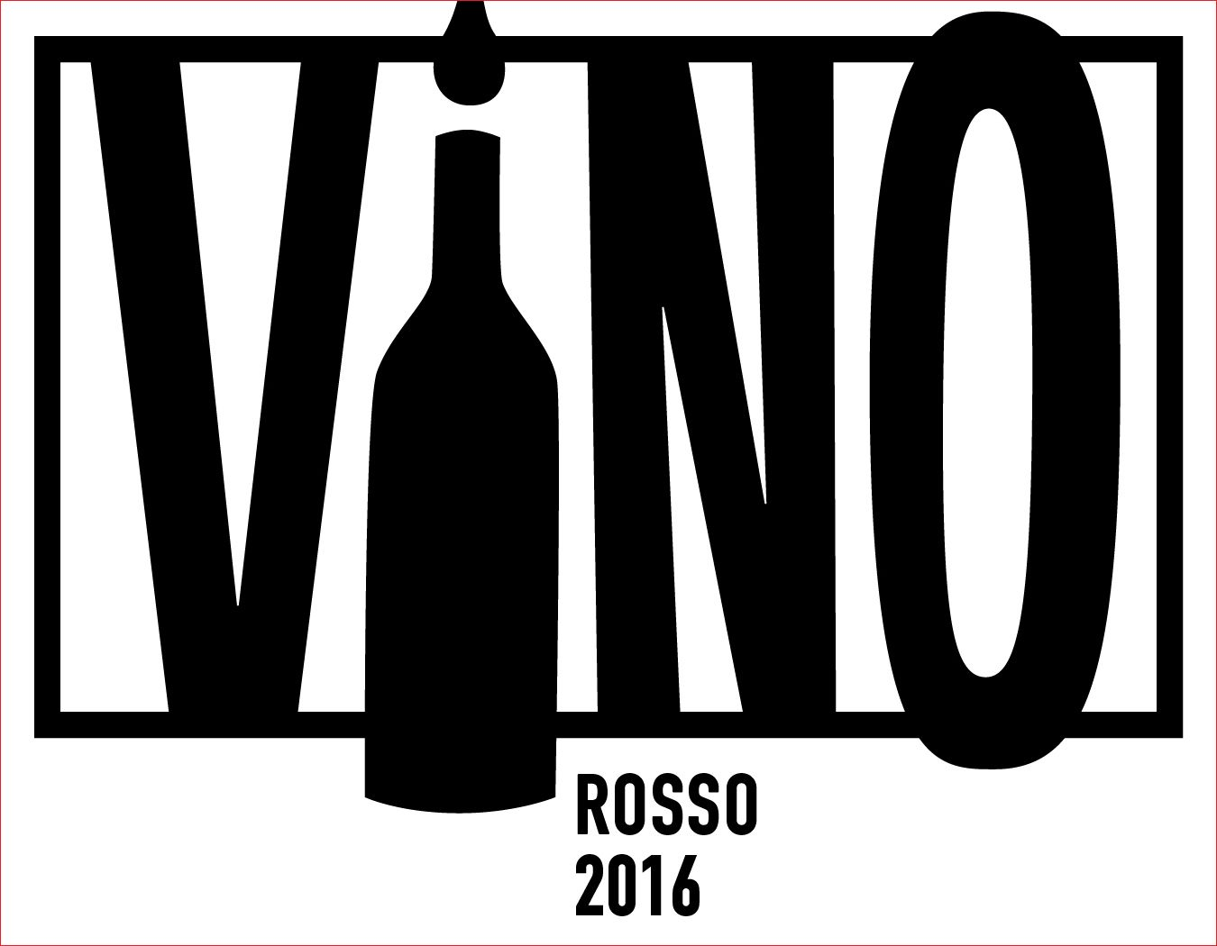 ViNO Rosso 2016  Front Label
